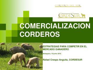 COMERCIALIZACION CORDEROS