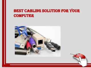 Cabling Solution