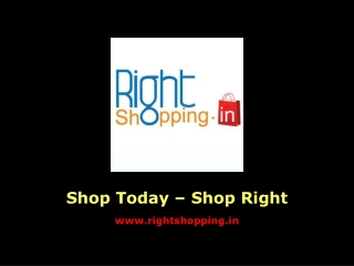 RightShopping.in Promotional Ad
