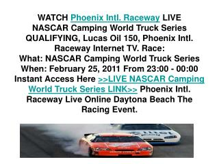 NASCAR Camping World Truck Series Live~Stream Car Racing TV