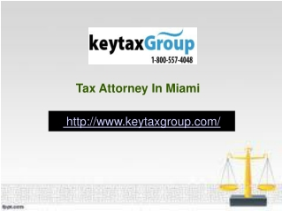 Tax Attorney In Miami