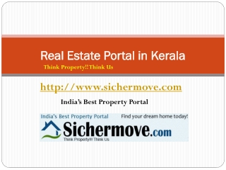 Real Estate Portals in Kerala