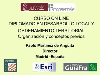 CURSO ON LINE DIPLOMADO EN DESARROLLO LOCAL Y ORDENAMIENTO TERRITORIAL  Organizaci n y conceptos previos