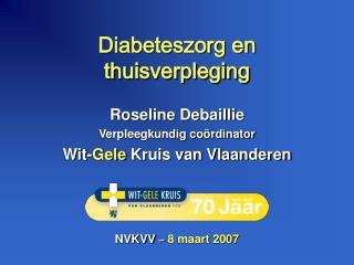 Diabeteszorg en  thuisverpleging