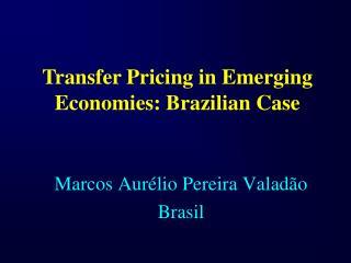 Marcos Aur lio Pereira Valad o Brasil