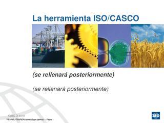 La herramienta ISO