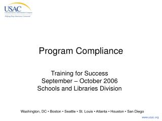 Program Compliance