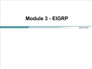 Module 3 - EIGRP