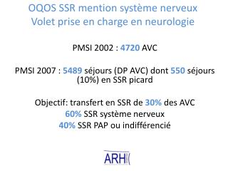 OQOS SSR mention syst me nerveux Volet prise en charge en neurologie