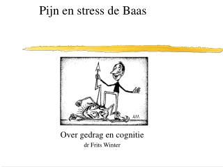 Pijn en stress de Baas