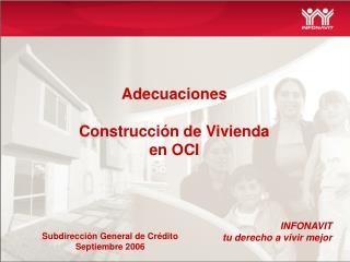 Adecuaciones   Construcci n de Vivienda en OCI