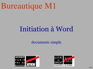 Initiation   Word