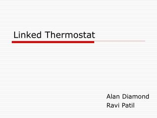 Linked Thermostat