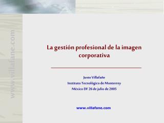 La gesti n profesional de la imagen corporativa