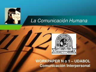 La Comunicaci n Humana