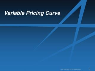 Variable Pricing Curve