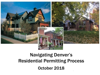 Permitting Through Project Close Out   Tips for Navigating the City s Plan Review Processes