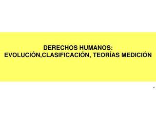 EVOLUCI N DE LOS DERECHOS HUMANOS