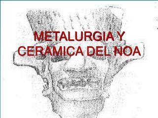 METALURGIA Y CERAMICA DEL NOA