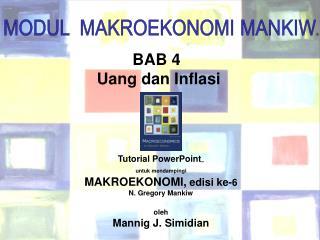 BAB 4  Uang dan Inflasi