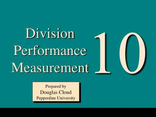 Division Performance Measurement