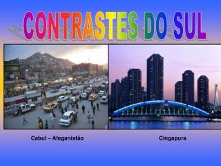 CONTRASTES DO SUL