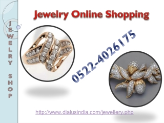 Online Jewelry Shopping - DialUs India