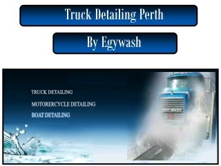 Truck Detailing Perth