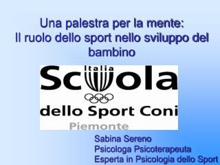 Una palestra per la mente: Il ruolo dello sport nello sviluppo del bambino