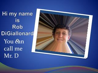 Rob's Powerpoint about ME