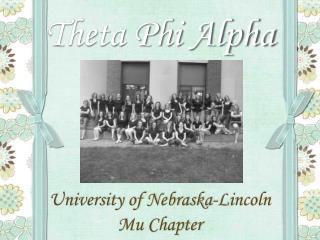 Theta Phi Alpha