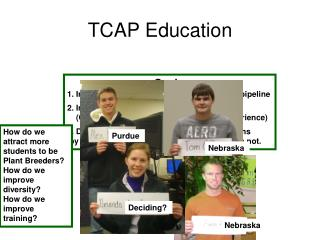 TCAP Education