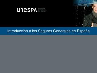 Introducci n a los Seguros Generales en Espa a