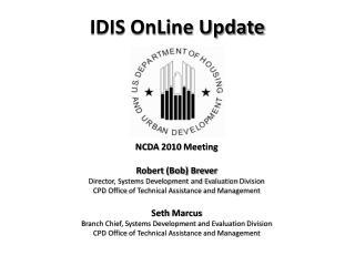 IDIS OnLine Update