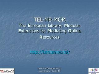 TEL-ME-MOR