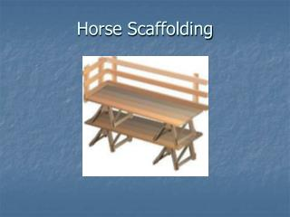 Horse Scaffolding