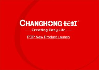 PDP New Product Launch