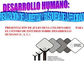 DESARROLLO HUMANO: