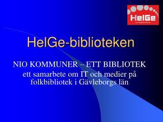 HelGe-biblioteken