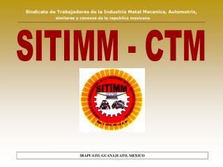 SITIMM - CTM