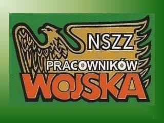 SYTUACJA PLACOWA  PRACOWNIK W WOJSKA  material na posiedzenie  Sejmowej Komisji Obrony Narodowej