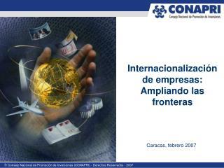 Internacionalizaci n de empresas: Ampliando las fronteras
