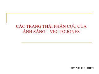 C C TRNG TH I PH N CC CA  NH S NG   VEC TO JONES