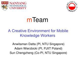 A Creative Environment for Mobile Knowledge Workers