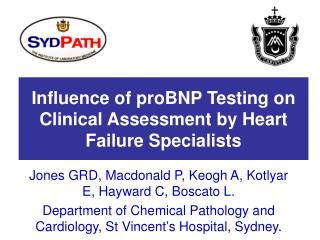 Influence of proBNP Testing on Clinical Assessment by Heart Failure Specialists