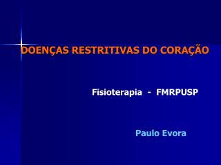 Fisioterapia  -  FMRPUSP