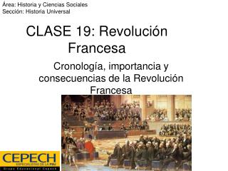 CLASE 19: Revoluci n Francesa