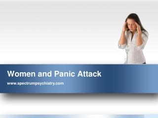 Women and Panic Attack