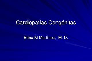 Cardiopat as Cong nitas