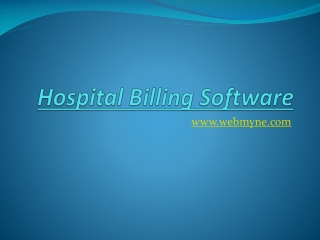 Clinic management software